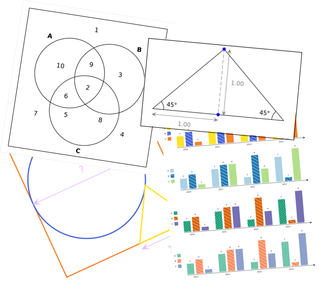 A montage of a variety of diagrams