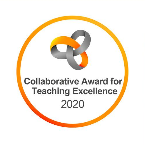 Collaborative Award for Teaching Excellence 2020 badge